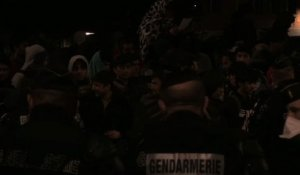 Paris: Evacuation d'un campement de 3.000 migrants