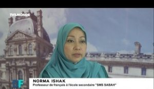 "DF #168 - Norma Ishak  / Opération ""Immersion France"" à Bornéo en Malaisie"