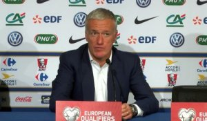 Deschamps juge la prestation de Pogba