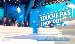 TPMP : Cyril Hanouna répond en direct au CSA qui menace l'émission de suspension - Vidéo