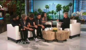 One Direction interview - Ellen TV show