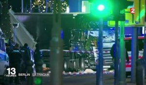 Attentat à Berlin : la traque se poursuit