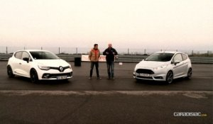 Comparatif - Ford Fiesta ST200 vs Renault Clio RS Trophy