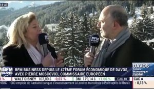 Forum Économique de Davos 2017: Interview de Pierre Moscovici - 18/01