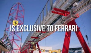 Voici le parc d'attraction Ferrari, en Europe à PortAventura