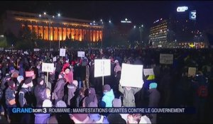 Roumanie : manifestations contre le gouvernement à Bucarest