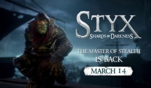 STYX: Shards of Darkness - sur PS4 le 14 mars - Trailer Coop Bande-annonce [Full HD,1920x1080]