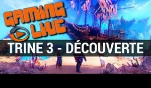 Trine 3 : Gaming live découverte - gameplay (2/2) PC