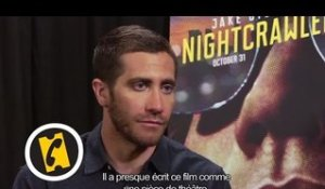 Interview Jake Gyllenhaal - Night Call - (2014)