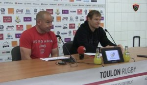 Avant-match Paris/Toulon : Richard Cockerill