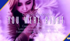 Casper Blancaflor - You Were Right