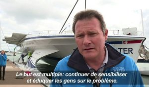 Race for Water: un catamaran vert autour du monde