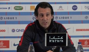 Foot - L1 - PSG : Emery «J'attends un match complet contre Guingamp»