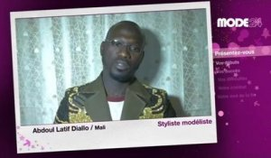 MODE 24 - Abdoul Latif DIALLO, styliste