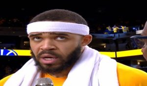 JaVale McGee Post Game Interview - NTSC