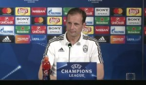 Foot - C1 - Juventus : Allegri «Un match plus ouvert»