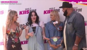 Noah Cyrus Talks Wango Tango Pre-Show Prep With Miley Cyrus, Tish Cyrus Crashes Interview | Wango Tango