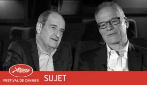PIERRE LESCURE / THIERRY FREMAUX - Sujet - VF - Cannes 2017