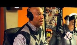 "RUSSELL SIMMONS TALKS BEING ""SUPER RICH"" ON #SWAYINTHEMORNING"