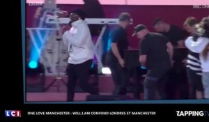 One Love Manchester : Will.I.Am confond Londres et Manchester (vidéo)