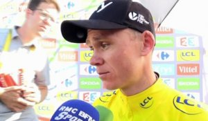 "Tour de France - Froome : ""Une grosse surprise''"