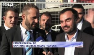 XV de France - L'interview déjantée de Fred Michalak avec les Barbarians