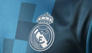 "Le Real Madrid dévoile son maillot ""third"""
