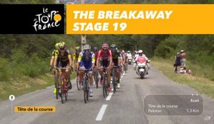 20 coureurs dans l'échappée / 20 riders in the breakaway - Étape 19 / Stage 19 - Tour de France 2017