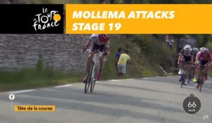 Mollema attaque / attacks  - Étape 19 / Stage 19 - Tour de France 2017