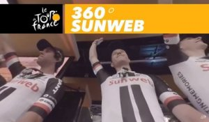 Sunweb team podium at the Grand Départ - 360° - Tour de France 2017