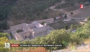 Incendies : accalmie à Gordes