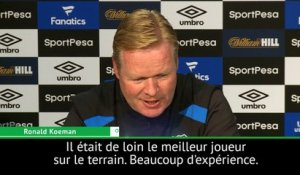 Everton - Koeman salue l'influence de Rooney