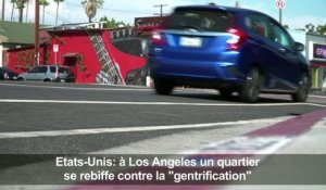 "A Los Angeles, un quartier se rebiffe contre la ""gentrification"""