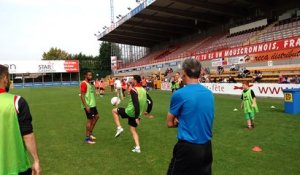 Fan day du Royal Excel Mouscron - kids
