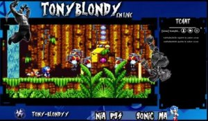 Tony blondy sur Sonic mania (08/09/2017 17:37)