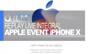 ORLM-268 : Replay Live Apple Event Version Intégrale