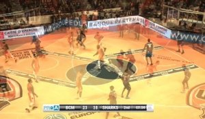 Pro A - J13 : Gravelines-Dunkerque vs Antibes