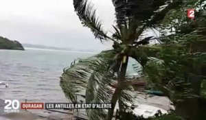 [Zap Actu] Ouragan Maria : la Martinique placée en alerte cyclonique maximale (19/09/17)