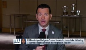 Rapoport: DRC decision and upset vs. Broncos proved Ben McAdoo's 'confidence'