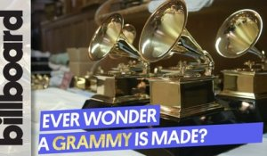 How A Grammy Is Made | Billboard Grammy Preview