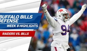 Bills defense highlights | Week 8
