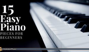 Various Artists - 15 Easy Classical Piano Pieces for Beginners