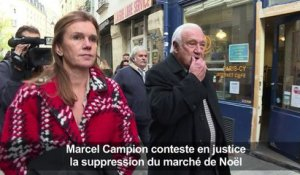 Justice: Campion conteste la suppression du marché de Noël