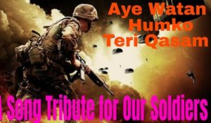 tribute to indian army ll ae watan ae watan humko teri qasam ll republic day special ll