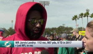 Jarvis Landry on contract negotiations with Dolphins: 'They're moving'