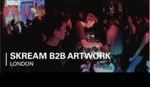 Skream b2b Artwork Boiler Room London DJ Set