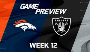 Broncos vs. Raiders preview | 'Move the Sticks'