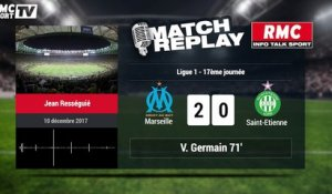 Marseille - Saint Etienne (3-0) : le Goal Replay avec le son RMCSPORT