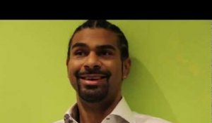 "Getting To Know: David Haye ""I'd like Vitali to step up to the plate!"" - Interview 