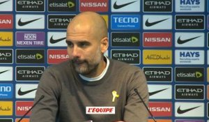 Foot - ANG - City : Guardiola «Agüero, une légende»